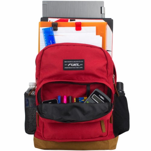 Fuel Superior Pro Backpack - Red Perspective: top
