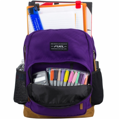 Fuel Superior Pro Backpack - Purple Perspective: top