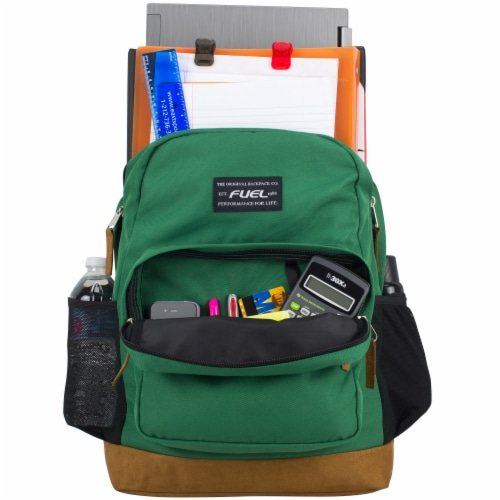 Fuel Superior Pro Backpack - Forest Green Perspective: top