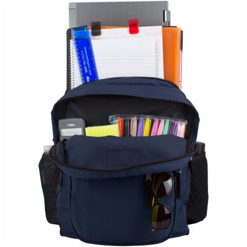Fuel Deluxe Classic Large Backpack - Navy Perspective: top
