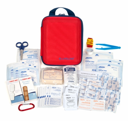 Lifeline Large First Aid Kit Perspective: top