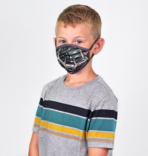 Wild Republic Outdoors Kids' Face Masks - Assorted Perspective: top