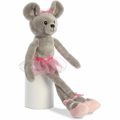"Aurora - Easter Item - 14"" April Ballerina Mouse Plush Perspective: top"