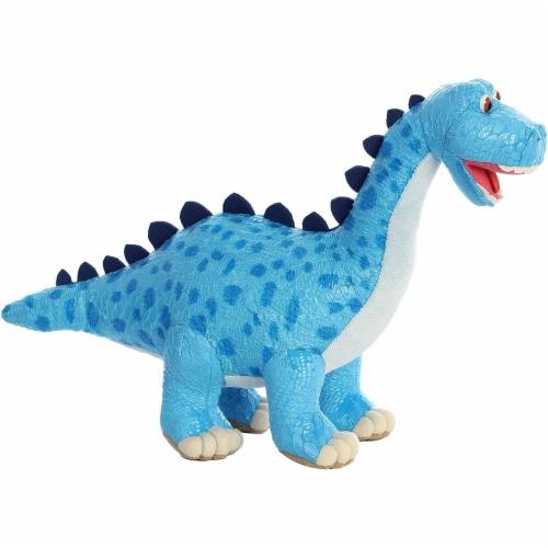 """Aurora World Dinosaur Roar - Munch Diplodocus 10"""" Plush Toy Perspective: top"""