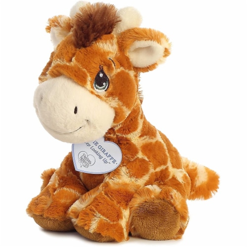 Raffie Giraffe 8 inch - Baby Stuffed Animal by Precious Moments (15709) Perspective: top