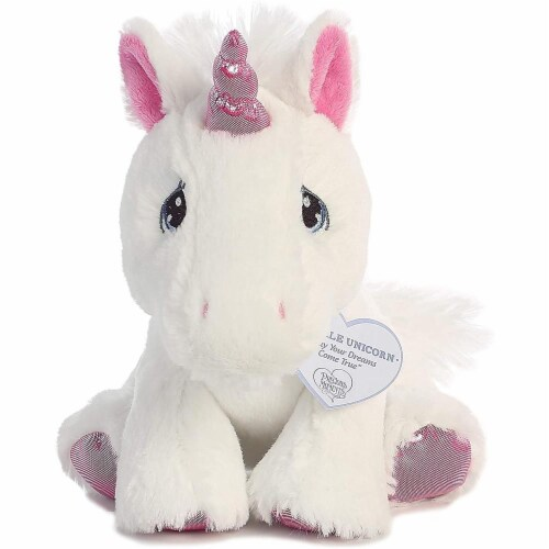 Sparkle Unicorn 8 inch - Baby Stuffed Animal by Precious Moments (15713) Perspective: top