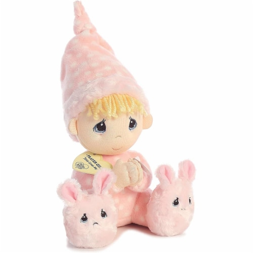 Aurora World Precious Moments Prayer Girl With Sound Now I Lay Me Down To Sleep Plush Perspective: top