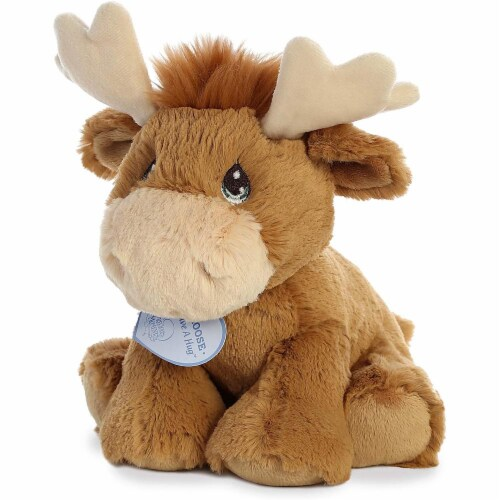 Aurora World Precious Moments Plush Toy, Monty Moose Perspective: top