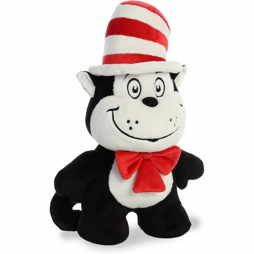 "Aurora World Dr. Seuss Cat in the Hat Dood Plushie, 11"" Perspective: top"