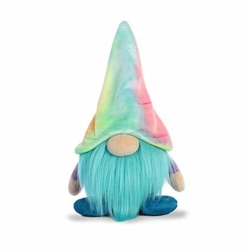 Aurora World Plush Gnomlin, Zoobie Tie Dye Gnome Perspective: top