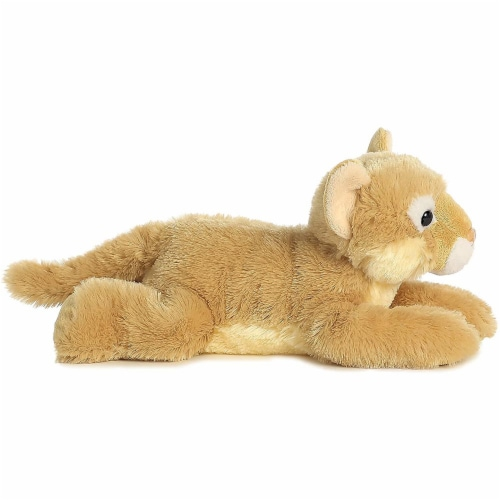 "Cougar 12"" Flopsie Stuffed Animal by Aurora Perspective: top"