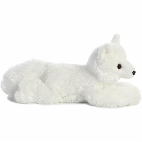 """Aurora World Flopsie Toy Arctic Fox Plush, 12"""" Perspective: top"""
