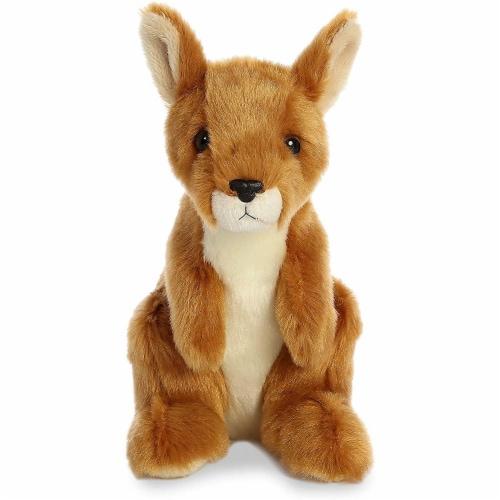 """Aurora World 8"""" Mini Flopsie Plush Toy, Kangaroo Perspective: top"""