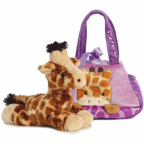 Aurora World Fancy Pals Peek-A-Boo Giraffe Pet Carrier Perspective: top