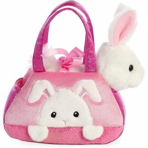 "Aurora World Inc. 7"" PEEK-A-Boo Bunny Fancy Pal Pet Carrier Perspective: top"