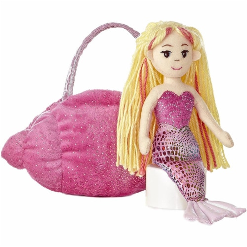 Aurora World Pink Conch Fancy Pals Carrier Perspective: top