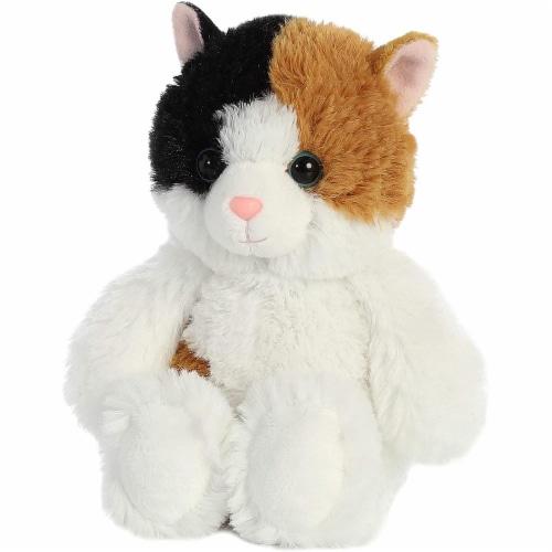 Aurora Esmeralda Cat Plush, White Perspective: top