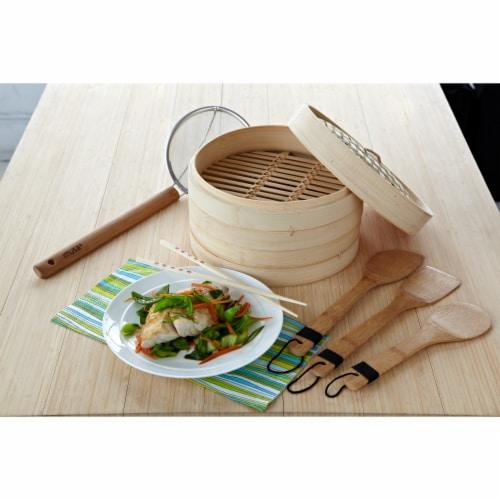 IMUSA Bamboo Kitchen Tool Set - Natural Perspective: top