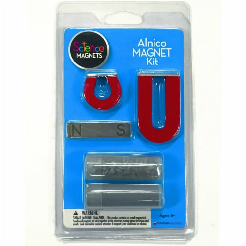 Dowling Magnets Alnico Science Magnet Kit Perspective: top