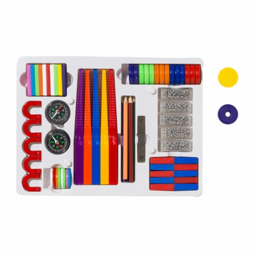 Dowling Magnets Level 2 Classroom Attractions Kit Perspective: top