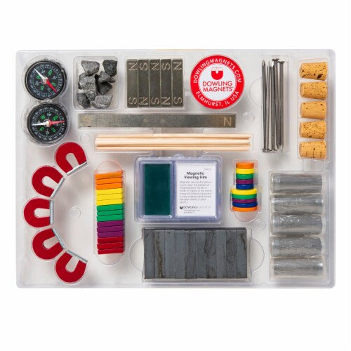 Dowling Magnets Level 3 Classroom Attractions Kit Perspective: top