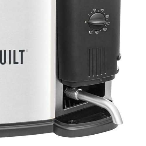 Masterbuilt Butterball XL 3-in-1 Electric Deep Fryer Boiler Steamer Cooker, 10L Perspective: top