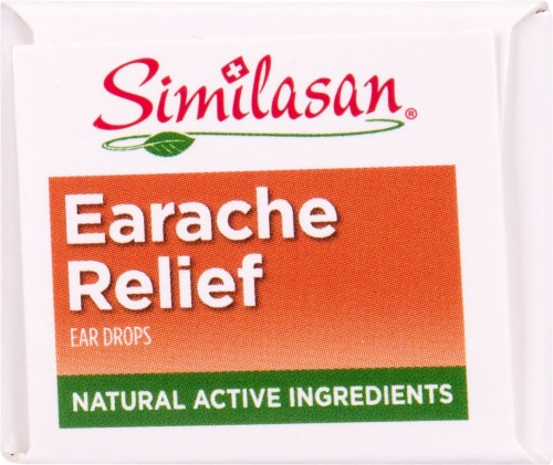 Similasan Earache Relief Ear Drops Perspective: top