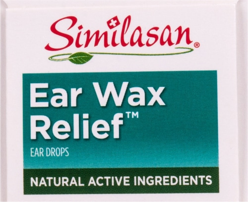 Similasan Ear Wax Relief Ear Drops Perspective: top