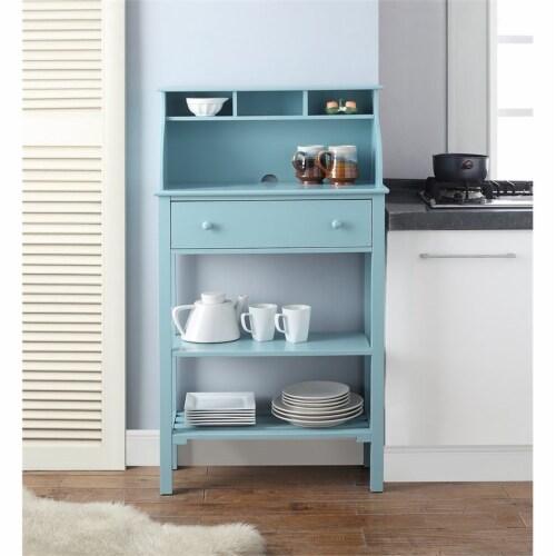 Designs2Go Office/ Kitchen Storage Desk Perspective: top