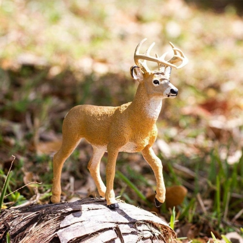 Whitetail Buck Toy Perspective: top