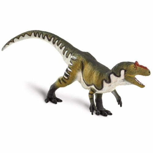 Allosaurus Toy Perspective: top