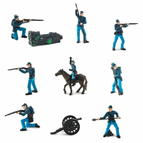 Civil War Union Army Super TOOB Perspective: top