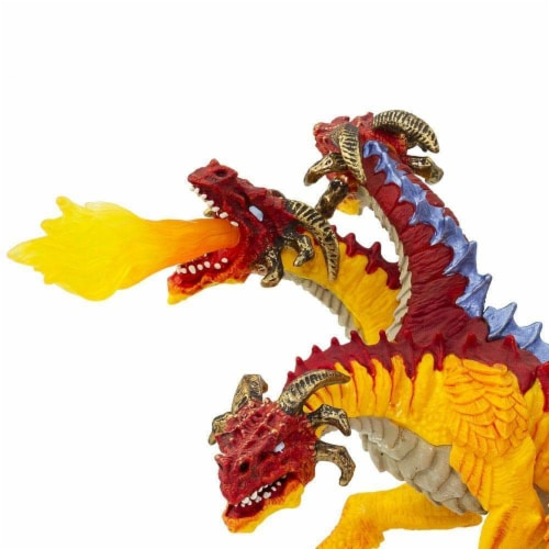 Fire Dragon Toy Perspective: top