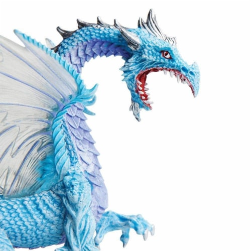 Ice Dragon Toy Perspective: top