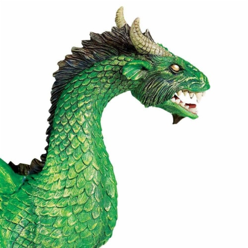 Forest Dragon Toy Perspective: top