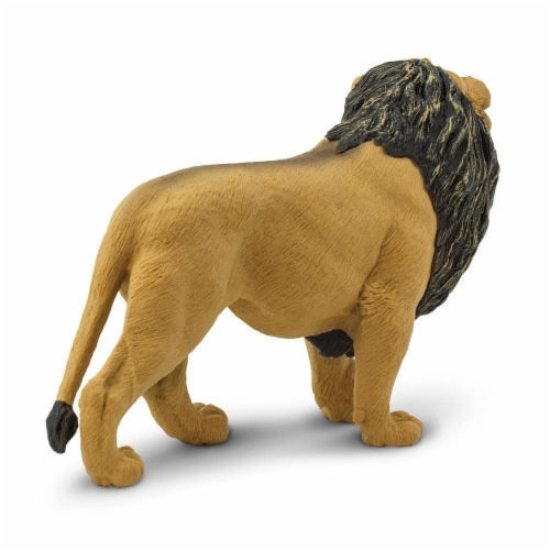 Lion Toy Perspective: top