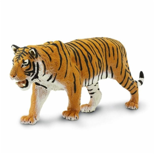 Siberian Tiger Toy Perspective: top