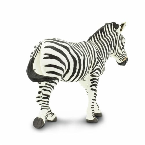 Zebra Toy Perspective: top
