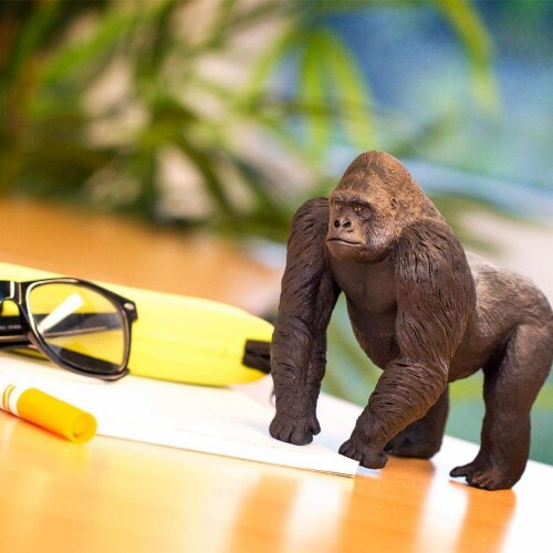 Silverback Gorilla Toy Perspective: top