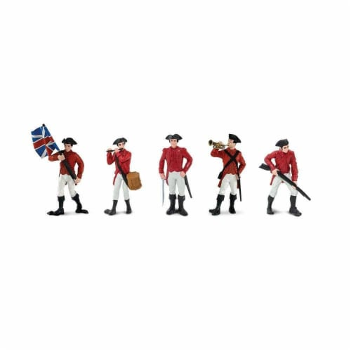 Revolutionary War British Army TOOB Perspective: top