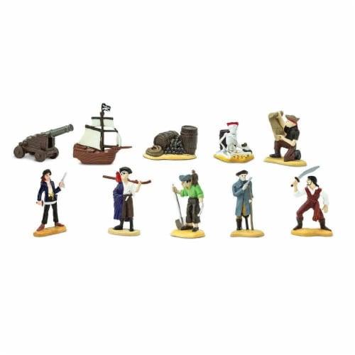 Safari 680804 Pirates Miniatures Toob Perspective: top