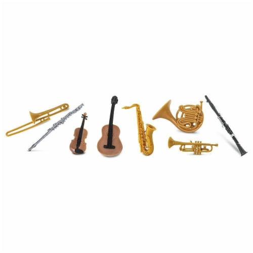 Musical Instruments TOOB Perspective: top