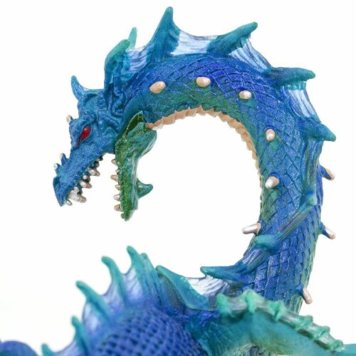 Sea Dragon Toy Perspective: top