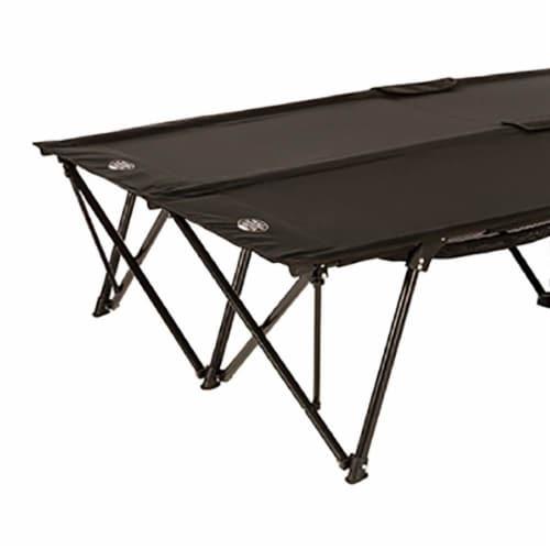 Kamp-Rite Double Kwik-Cot 2 Person Compact Indoor & Outdoor Camping Sleeping Cot Perspective: top