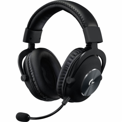 Logitech G Pro X Gaming Headset Perspective: top