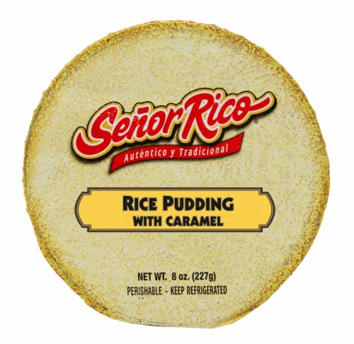 Flan Rico Caramel Rice Pudding Perspective: top