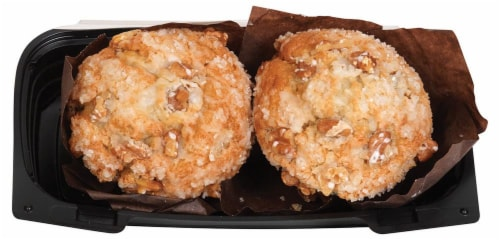 Bakery Fresh Goodness Banana Nut Muffins Perspective: top