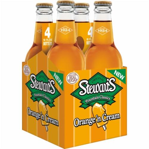 Stewart's Orange 'n Cream Soda Perspective: top