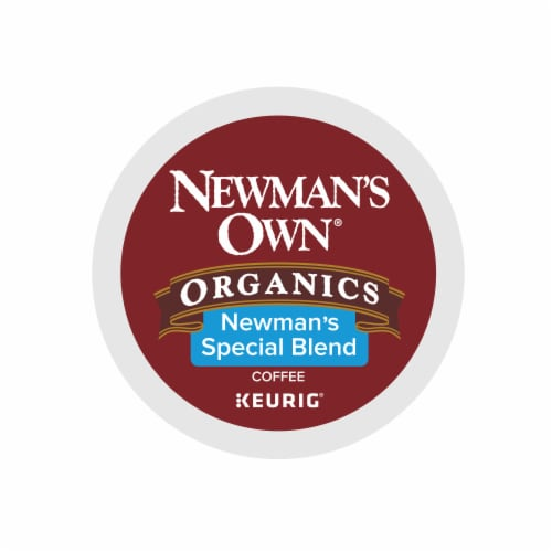 Newman's Own Organics Medium Roast Special Blend Coffee K-Cup Pods Perspective: top