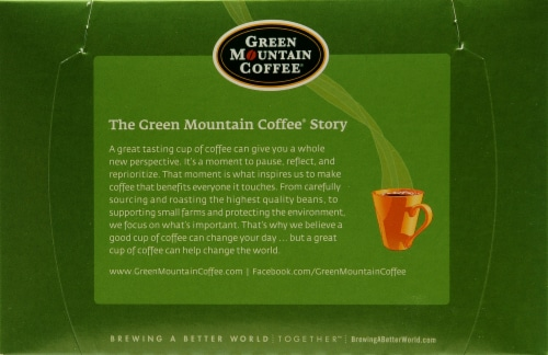 Green Mountain Coffee French Vanilla Decaf K-Cup Pods Perspective: top